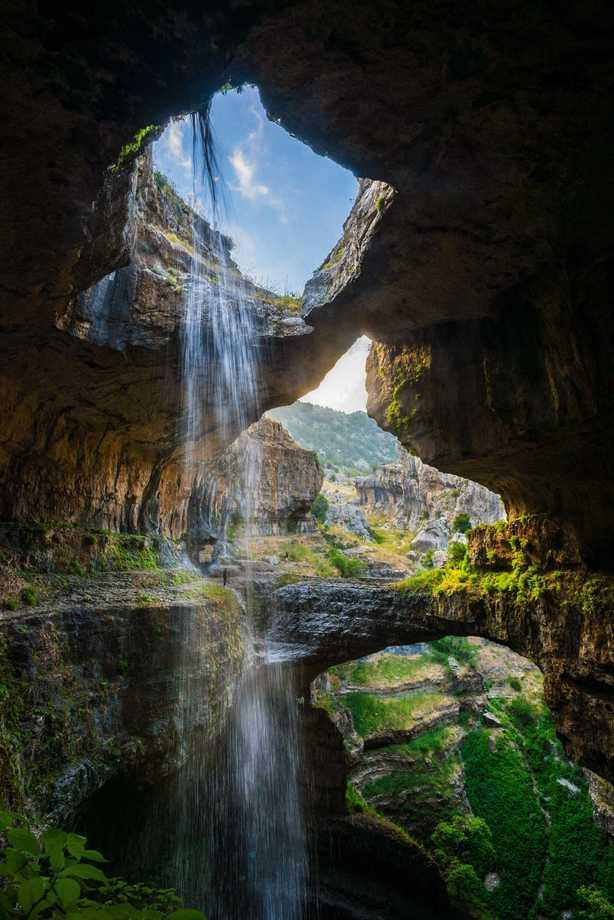 Baatara Gorge, Lebanon